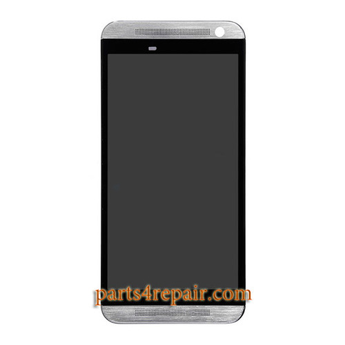 Complete Screen Assembly with Front Housing for HTC One E9 -Silver