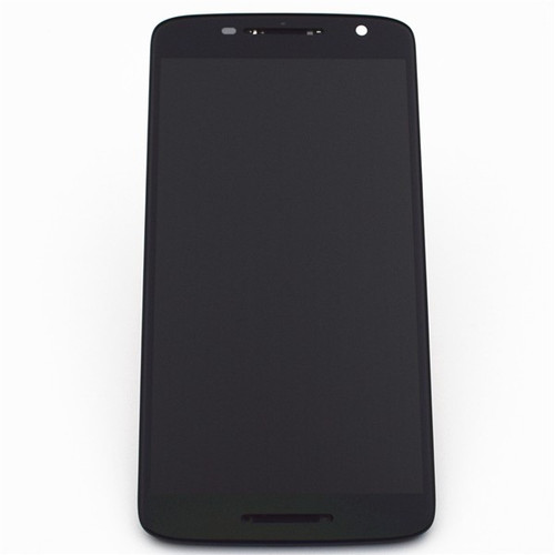 Complete Screen Assembly with Bezel for Motorola Moto X Play -Black