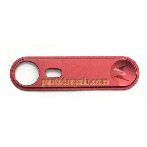 Logo Cover for Motorola Moto X Style - Red