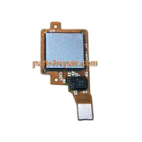 Fingerprint Sensor Flex Cable for Huawei Honor 7 -Silver