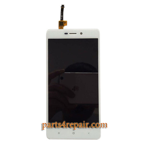 Complete Screen Assembly for Xiaomi Redmi 3 3X 3S -White