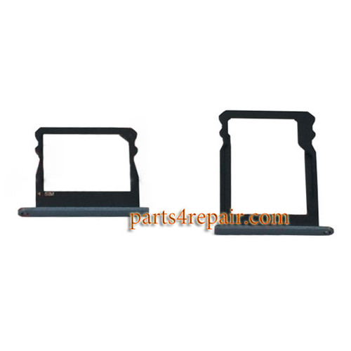 A Pair of SIM Trays for Huawei Honor 7i -Black
