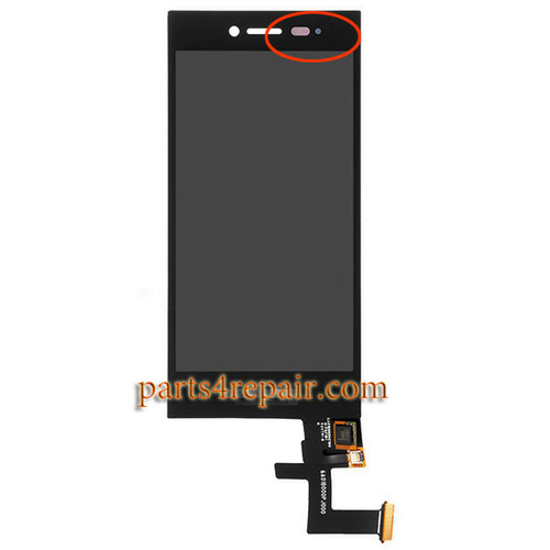Complete Screen Assembly for BlackBerry Leap Z20 (Version 2)