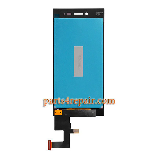LCD Screen and Touch Screen Assembly for BlackBerry Leap Z20