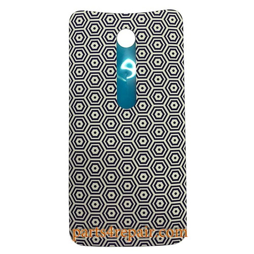 Back Cover with Adhesive for Motorola Moto X Style