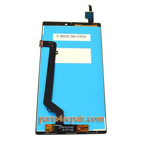 LCD Screen and Touch Screen Assembly for Lenovo Vibe K4 Note