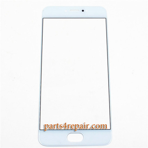 Front Glass OEM for Meizu Pro 6 -White