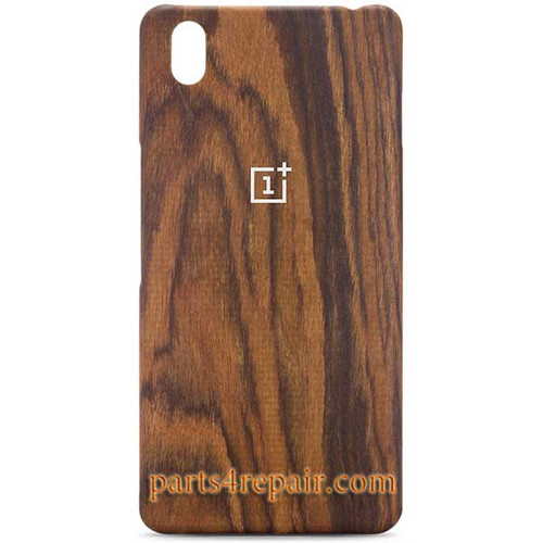 Wood Back Cover For OnePlus X from www.parts4repair.com
