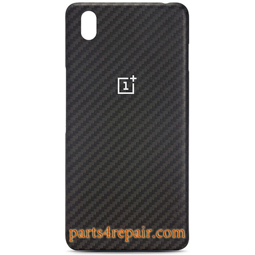 Back Cover For OnePlus X -Karbon