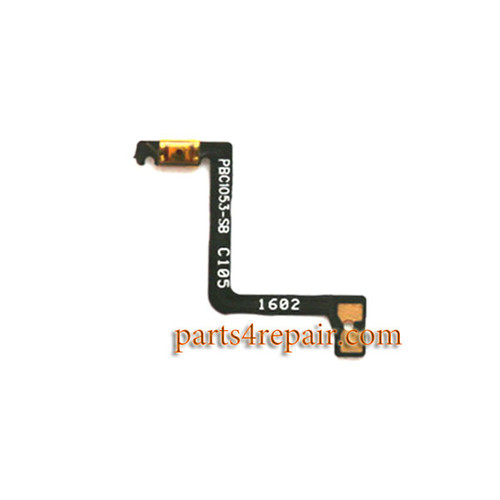 Power Flex Cable for Oppo R9 Plus from www.parts4repair.com