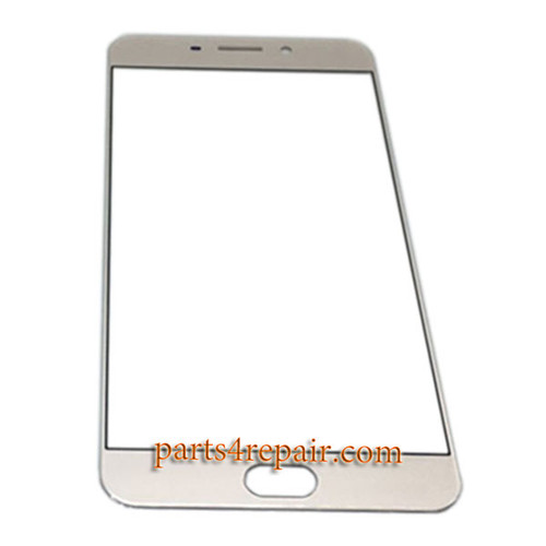 Front Glass OEM for Oppo R9 -Gold