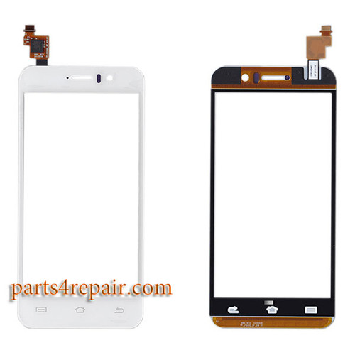 Touch Screen Digitizer for JiaYu G5 -White
