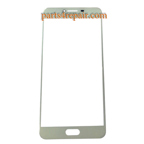 Front Glass OEM for Samsung Galaxy C7 -White