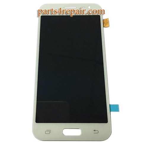 Complete Screen Assembly for Samsung Galaxy J2 All Versions -White