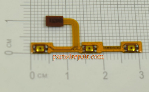 Side Key Flex Cable for Huawei P9 Lite from www.parts4epair.com