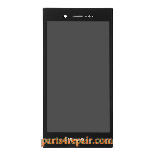 Complete Screen Assembly for BlackBerry Z3 from www.parts4repair.com