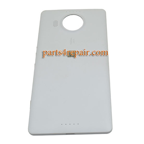 Back Cover OEM with Side Keys for Microsoft Lumia 950 XL -White