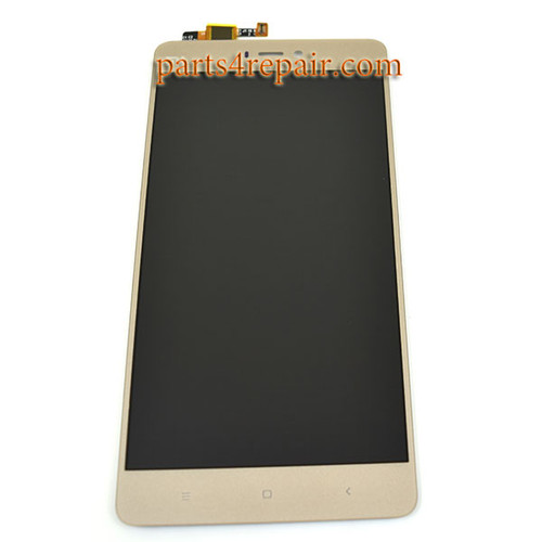 Compete Screen Assembly for Xiaomi Mi 4s -Gold