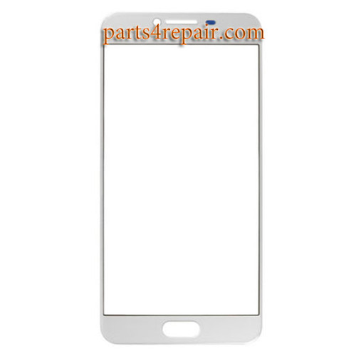 Front Glass OEM for Samsung Galaxy C5 -White