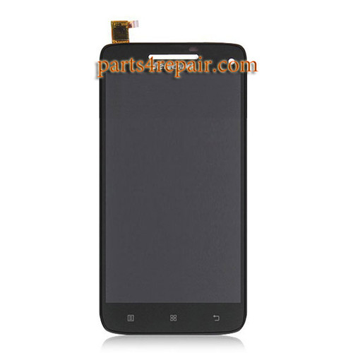 Complete Screen Assembly for Lenovo Vibe X S960 -Black