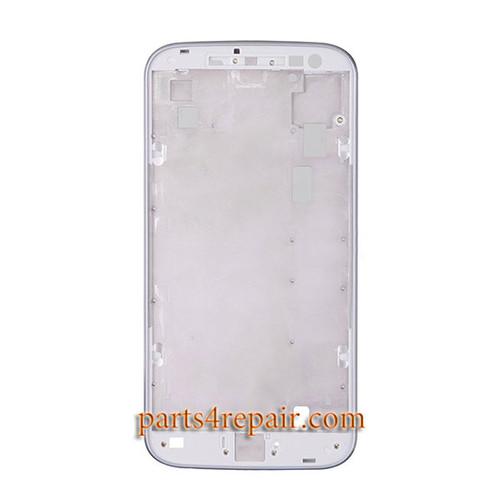 Front Housing Cover for Motorola Moto G4 -White