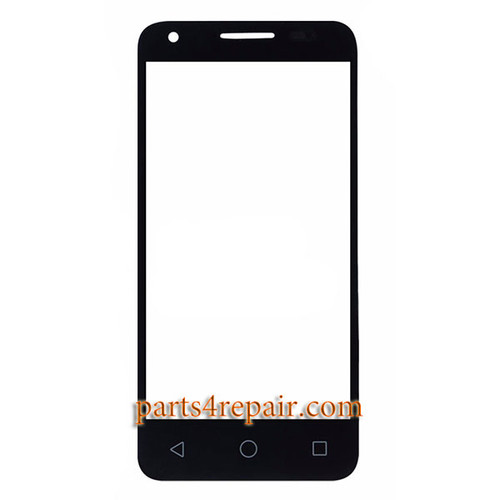 Front Glass for Alcatel Pixi 3 (4.5) 4027 -Black