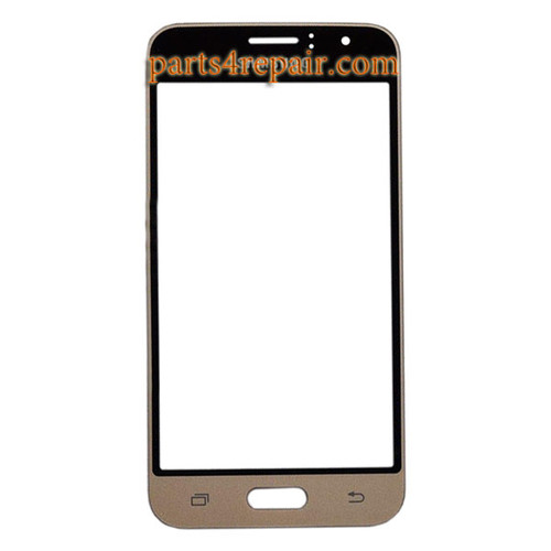 Front Glass for Samsung Galaxy J1 (2016) J120 -Gold