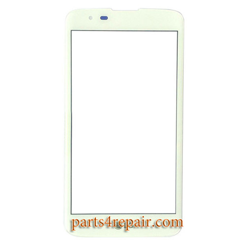Front Glass OEM for LG K8 -White