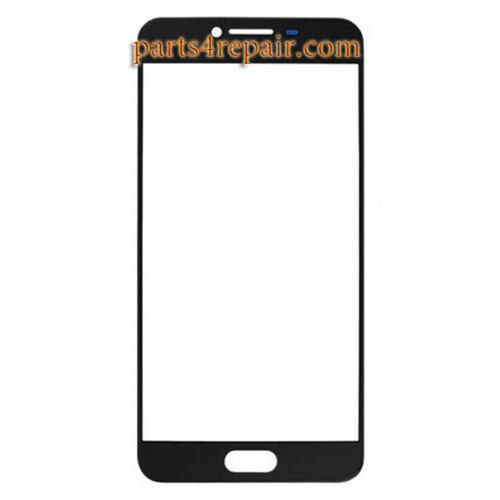 Front Glass OEM for Samsung Galaxy C7 -Black