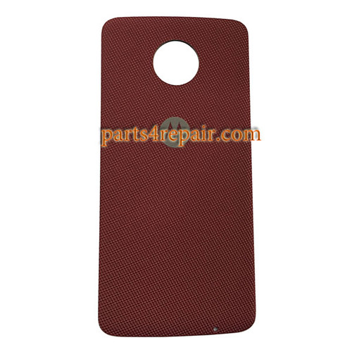 Back Case Nylon for Motorola Moto Z XT1650 -Red