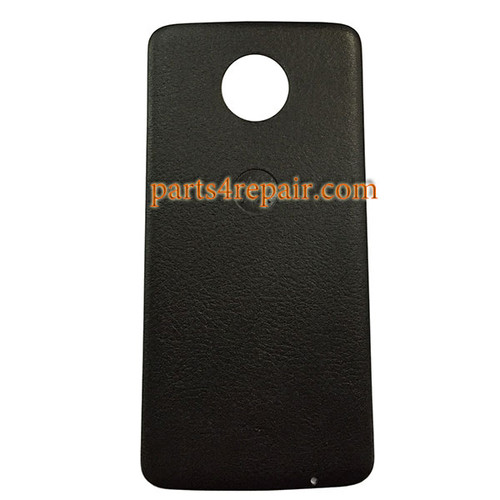 Back Case Leather for Motorola Moto Z XT1650 -Black