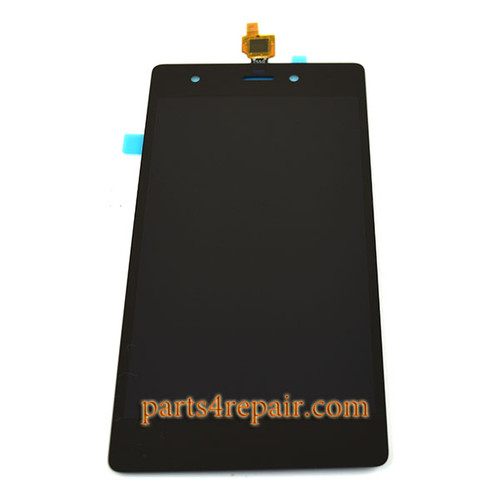 Complete Screen Assembly for Wiko Pulp -Black