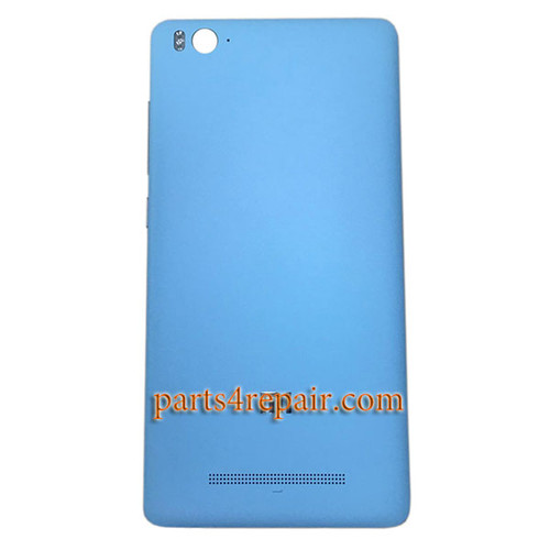 Back Cover with Side Keys for Xiaomi Mi 4c 4i -Blue