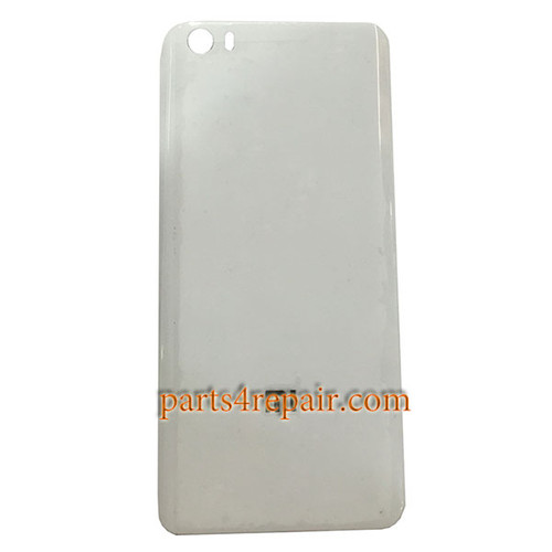 Back Cover Plastic OEM with Buckle for Xiaomi Mi 5 -White