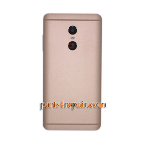 Back Housing with Side Keys for Xiaomi Redmi Note 4 -Gold