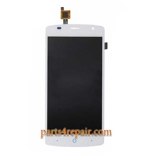 Complete Screen Assembly for ZTE Blade L5 Plus -White