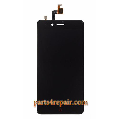 Complete Screen Assembly for ZTE Nubia Z11 mini NX529J -Black