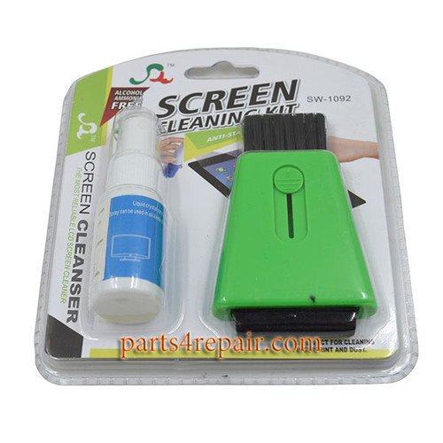 2 in 1 Anti Static Brush Screen Cleaning Tools Kit