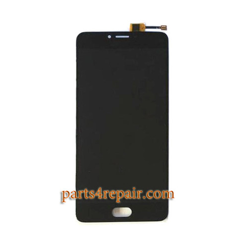 Complete Screen Assembly for Meizu U20 -Black