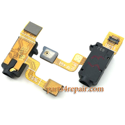 Earphone Jack Flex Cable for Sony Xperia XA from www.parts4repair.com