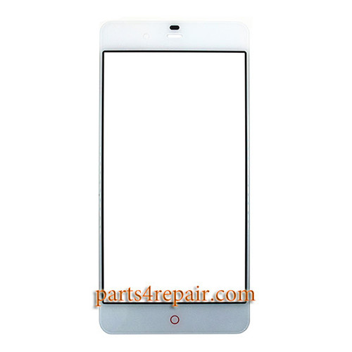 Front Glass OEM for ZTE Nubia My Prague NX513J -White