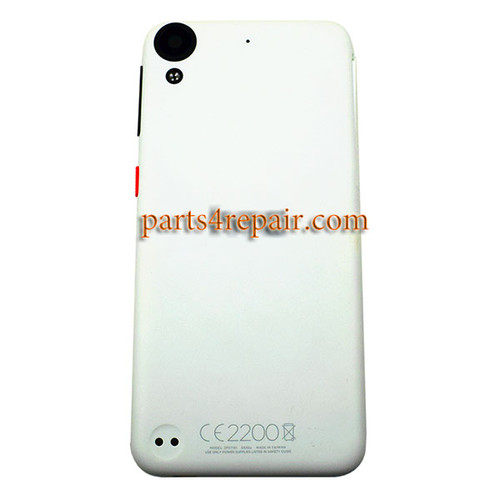 Back Cover with Side Keys for HTC Desire 530 -White (without Dot)