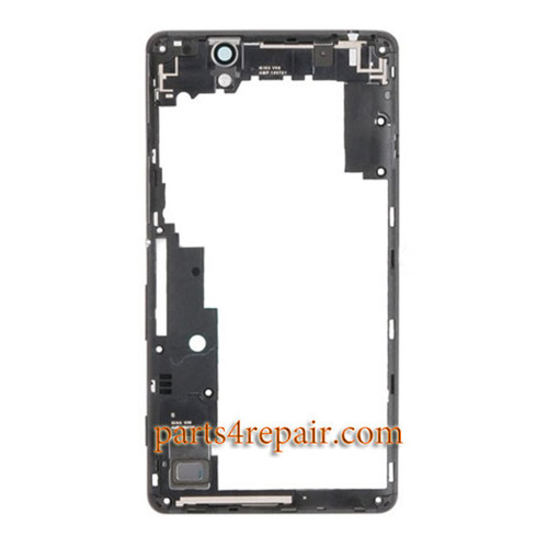 Middle Housing Cover for Sony Xperia C4 -Black