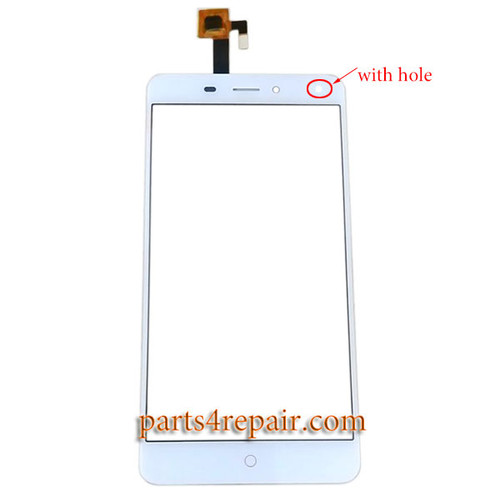 Touch Screen Digitizer with Hole for ZTE Nubia N1 Lite NX541J from www.parts4repair.com