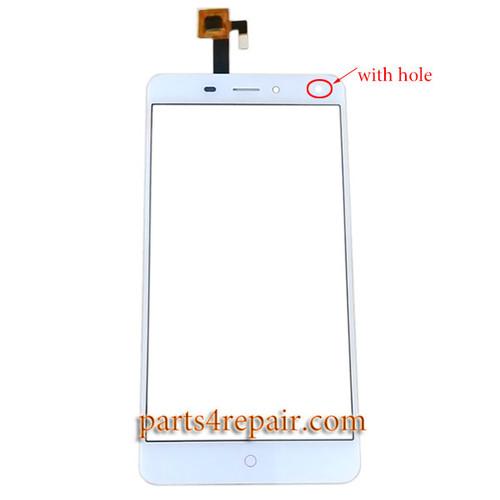 Touch Screen Digitizer for ZTE Nubia N1 Lite -White