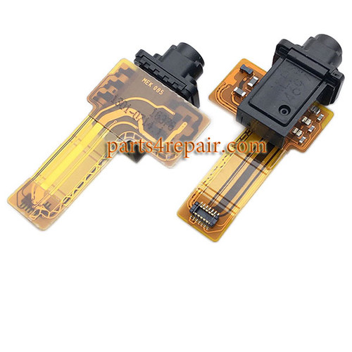 Earphone Jack Flex Cable for Sony Xperia XZ F8332 from www.parts4repair.com
