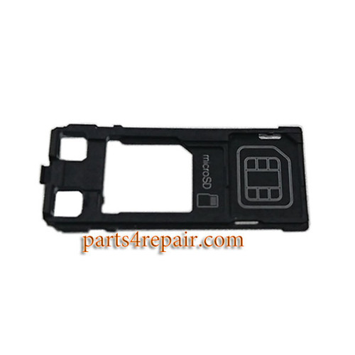 Single SIM Tray without Cap for Sony Xperia XZ