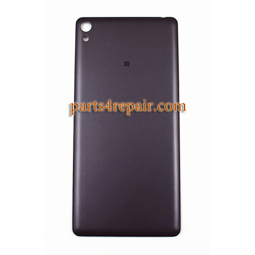 Back Cover for Sony Xperia E5 -Graphite Black