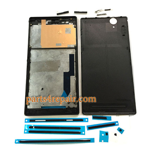 Full Housing Cover for Sony Xperia T2 Ultra Single SIM