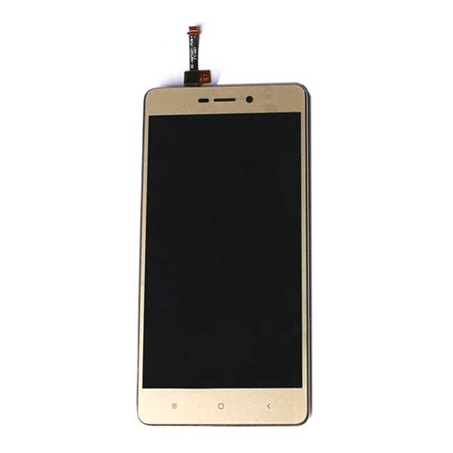 Complete Screen Assembly with Bezel for Xiaomi Redmi 3 3S 3X -Gold